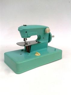 Child's Toy Sewing Machine French Model by FrenchVintageTextile, €30.00