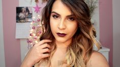 Holiday Glam Look | Collab with Kiara Michelle