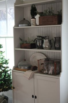 The sun is shining bright here today so I thought I would share some photos of my dining room all decorated for Christmas. Our farmhouse is ...