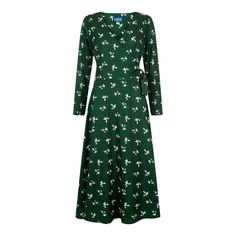 Collectif Willa Pressed Floral Wrap Dress £41.65