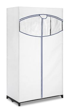 Get the Whitmor Clothes Closet with white plastic cover can provide extra closet space, or provide storage for unused or seasonal garments from The Home Depot Closet Drawers, Closet Rod, Wardrobe Closet, Closet Space, Portable Clothes Rack, Portable Closet, Clothes Storage, Office Storage, Closet Organization