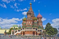 Saint Basil's Cathedral – Moscow – Russia