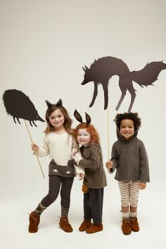 cleo sullivan - kids with the Cat Sweater and Animal Hoodie by @Heather Tolle NYC #oeufnyc