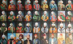 The Sultans of the Ottoman Empire