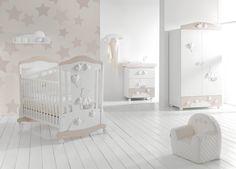 Cameretta Stella - mibb - lettini per bambini - culla per neonatoMibb