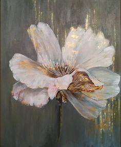Chamomile Oil, Modern Art Paintings, Button Art, Decoupage Paper, Gold Art, Diy Wall Art, Flower Art, Illusions, Pastel