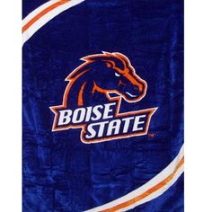 Boise State Broncos 60x80 NCAA Blanket - Free Shipping in the Continental US!
