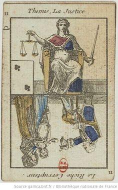 Jeu du Petit Oracle : [jeu de cartes, estampe] - 19