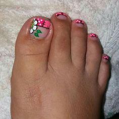 Pedicure Designs, Toe Nail Designs, Toe Nail Art, Toe Nails, Cute Spring Nails, Glitz And Glam, Gorgeous Nails, Fes, Manicure