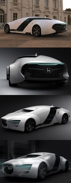 Nice Honda 2017: ♂ The Honda Zeppelin was a design created by Myung Jin Jung, a student of Hongik FOLLOW CONCEPTS IN MOTION - University's car design course. The Zeppelin was created for his final year thesis - for 2008 the brief was to design a luxurious sedan for the future. supercars Check more at...