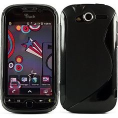 Black Protective Dual Texture Fusion Rubberized Silicone Skin Cover Case for HTC T Mobile MyTouch 4G (Wireless Phone Accessory)  http://www.amazon.com/dp/B004K575E0/?tag=heatipandoth-20  B004K575E0