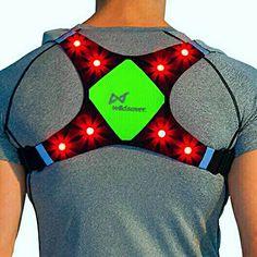 ORANGE LED Warning Light Safety Cycling Walking Jogging Camping Keyring Bag UK
