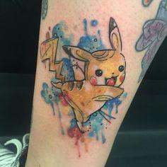 Finally did pikachu  thanks @alphasixx  #tattoo #tattoos #tattooing #tattooed…