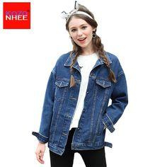 Long Sleeve Boyfriend denim jacket Women spring and autumn female Jean  jacket - US  22.00. Jean jackets•Long ... e4a1dcb04f91