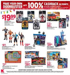 Kmart Black Friday 2018 Ads and Deals Browse the Kmart Black Friday 2018 ad scan and the complete product by product sales listing. Kmart Coupons, Black Friday News, Best Exercise Bike, Star Wars Toys, Make Your Own, Action Figures, Ads, Stuff To Buy