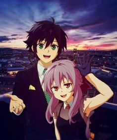 Shinoa and Yuichiro