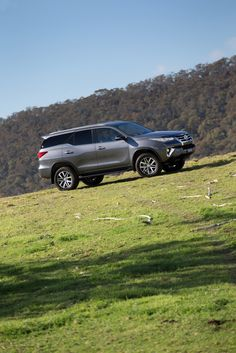 Toyota has unveiled the all-new Fortuner SUV in Australia and Thailand.