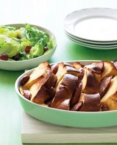 French-Toast Strata with Sausage