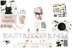 Beauty Blogger Bundle I by Floral Deco on @creativemarket