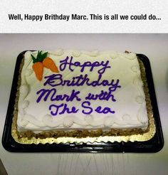 haha I work with a Marc with the Sea !!