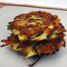 spicy zuccini fritters