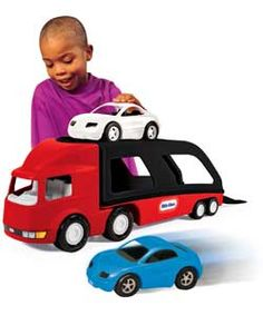 Buy Little Tikes Large Car Carrier at Argos.co.uk, visit Argos.co.uk to shop online for Toy cars, vehicles and sets, Pre-school