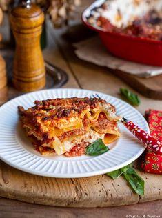 Lasagnes bolognaises Batch Cooking, Savoury Dishes, Lasagna, Goodies, Pasta, Favorite Recipes, Ethnic Recipes, Food Food, Kitchen