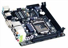 GigaByte origanl GA-B75N, LGA1155 Intel B75 DDR3,2 LAN,DVI-I,2 HDMI,PCIE