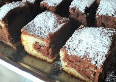 Nutellás, kakaós, kevert sütemény recept foto Nutella, Baking Recipes, Sweets, Cookies, Cake, Food, Brownies, Cooking, Hungarian Recipes