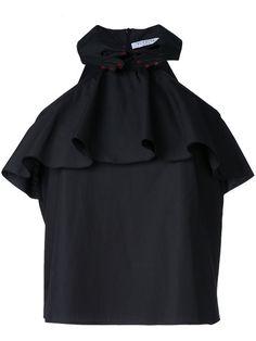 VIVETTA Neckholder-Top Mit Drapierten Akzenten. #vivetta #cloth #akzenten