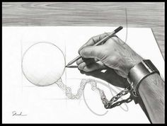30 Most Funniest Pencil Drawings and Art works - Funny Drawings    Read full article: http://webneel.com/funny-drawings   more http://webneel.com/drawings   Follow us www.pinterest.com/webneel