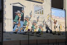 Lucky Luke - Rue de la Buanderie - Washuisstraat © www.brusselspictures.com