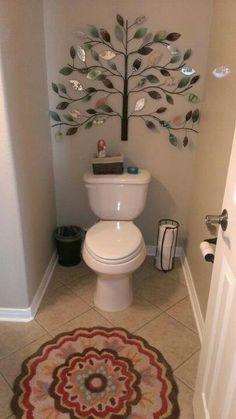 Very pretty bathroom decor