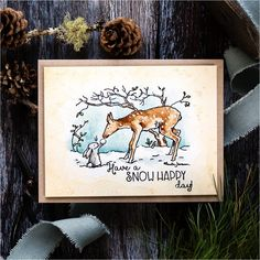 Colorado Craft Company Anita Jeram SNOW HAPPY Clear Stamps AJ385 at Simon Says STAMP! Anita Jeram, Kitten Mittens, White Gouache, You Are My Friend, I Love You, My Love, Doodle Designs, Simon Says Stamp, Artists