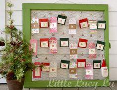 Little Lucy Lu: {DIY Advent Calendar}