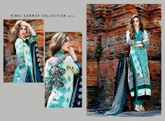 Riwaj Lawn Collection 2014 Vol-2 | Riwaj Lawn Suits by Shariq Textile. - FASHIONPAB