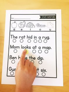 Phonetic sentences that begin with CVC words then move up to digraphs, blends, silent e, vowel teams, and bossy r words. Sentences get harder and longer as they progress.