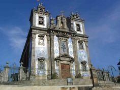 Azulejo route Igreja de Santo Ildefonso Porto