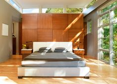 Tree House Bedroom - contemporary - bedroom - dc metro - Moore Architects, PC