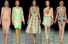 spring 2013 manish arora - jewelry by amrapali - love the colours. love the print. spot on.