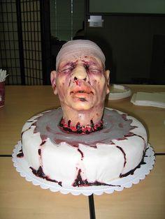 Severed head cake