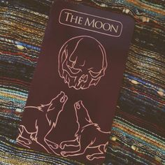 XVIII The Moon | Card of the Day Strong intuition. Beware of deception. One month's time.  Penny Dreadful Tarot - Showtime
