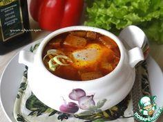 Ароматная чесночная похлебка из Кастильи - кулинарный рецепт
