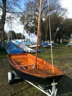 Types of sailing boats are numerous including cruisers, yachts and race boats to name just a few. Buying or selling a sailing boat has never been easier! Sailing Dinghy For Sale, Mirror Dinghy, Used Boats, Wooden Boats, Boats For Sale, Sailboat, Outdoor Furniture, Outdoor Decor, Boating