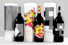 Op Art Wine by Meeta Panesar, via Behance