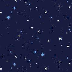 Star in Blue (Makower UK - Galaxy)