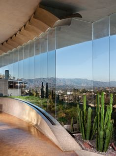L.A.'s famous Silvertop residence, a midcentury jewel by SoCal starchitect (and favorite of Bob Hope and Gwyneth Paltrow) John Lautner, has hit the market for the first time since 1974. vertical LR window viewF full.jpg