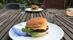 Vegetarische hamburgers vegetarische slager