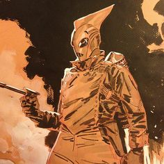 Rocketeer...love the older style comics set in the thirties type.