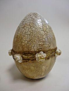 1 (375x500, 130Kb) Egg Crafts, Easter Crafts, Holiday Crafts, Diy And Crafts, Dragon Egg, Faberge Eggs, Decoupage Vintage, Egg Art, Egg Decorating